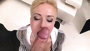 Leash, Big Cock, Blonde, Blowjob, High Definition, Huge