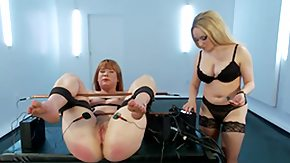 Tied Up, BDSM, Blonde, Dominatrix, Electro, MILF