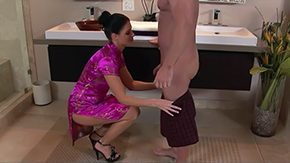 Oil Massage, Aged, American, Anorexic, Aunt, Bath
