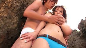 Nudist, Asian Granny, Asian Mature, Asian Old and Young, Beach, Beach Sex