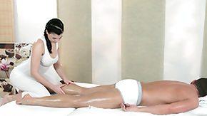 Lesbian Massage, Brunette, High Definition, Horny, Lesbian, Massage