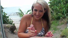 Madison Lovely, Ball Licking, Big Tits, Blonde, Blowbang, Blowjob