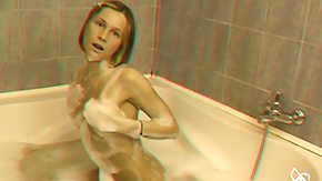 BBW, 3D, Bath, Bathing, Bathroom, BBW