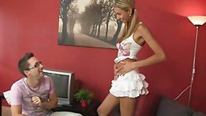 Skirt, Anorexic, Babe, Blonde, Skinny, Skirt