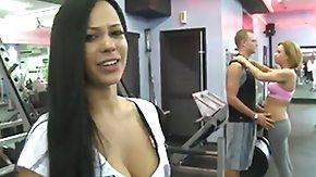 Handjob, Banana, Big Tits, Blonde, Blowbang, Blowjob