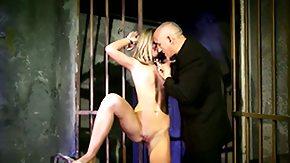 Vanda Lust, Ball Licking, BDSM, Blindfolded, Blonde, Blowbang