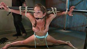HD Felony tube felony is tied to a bar and gagged