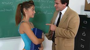 Gigi Rivera, Anorexic, Beauty, Bend Over, Classroom, Clothed