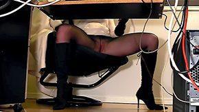 Hidden Masturbation, Candid, Desk, High Definition, Hidden, Hidden Cam